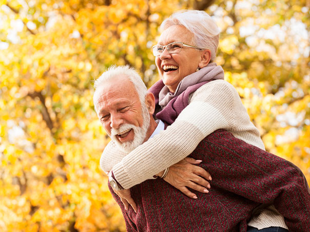 Man and Woman with Dentures